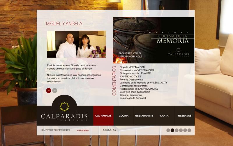 Miguel Barrera, Restaurante Cal Paradis en Vall D'alba (Castellón)