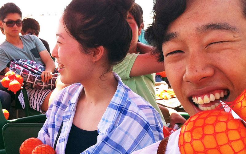 Futuros ingenieros agrícolas coreanos nos visitan