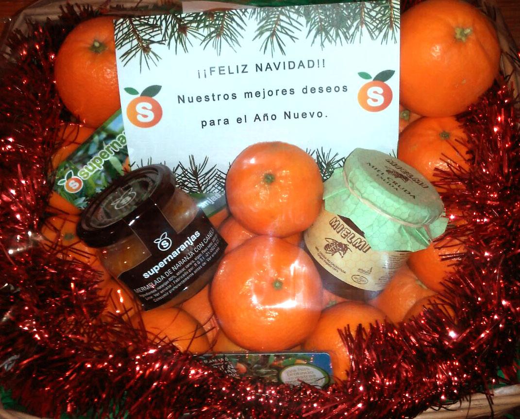 """Esta Navidad tenemos un regalo original… Regala salud """"Cesta Regalo Supernaranjas.com"""""""