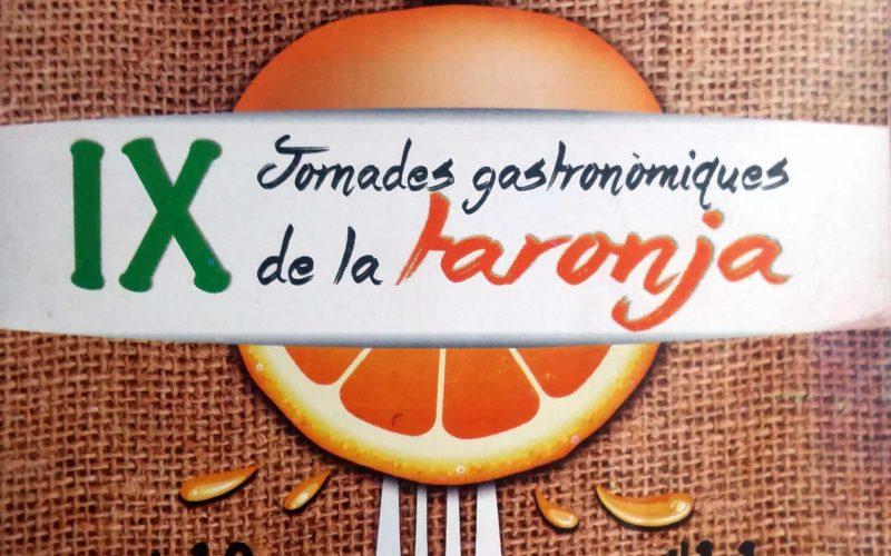 IX Journées gastronomiques de l'Orange 2018 au restaurant Pinocchio (Burriana) avec l'Orange Km0