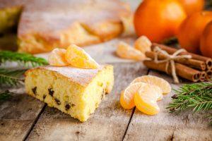 Bizcocho Integral de Naranjas Naturales recién cogidas