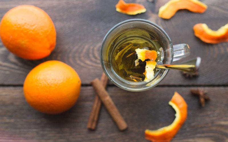 Tomar TÉ de Naranja ayuda a Adelgazar