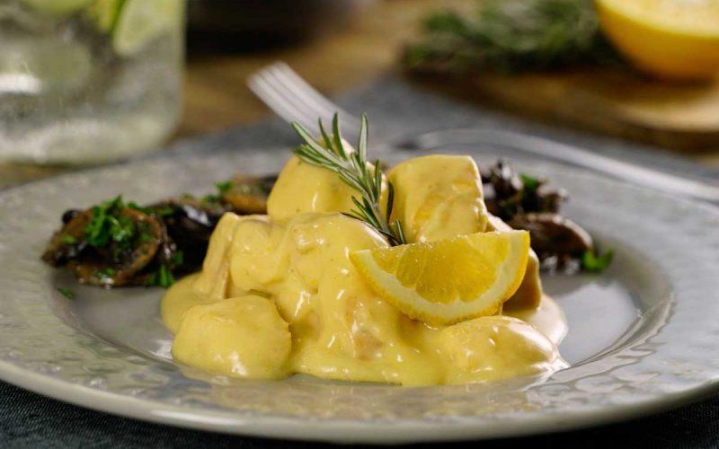 Delicioso Pollo a la Naranja Valenciana