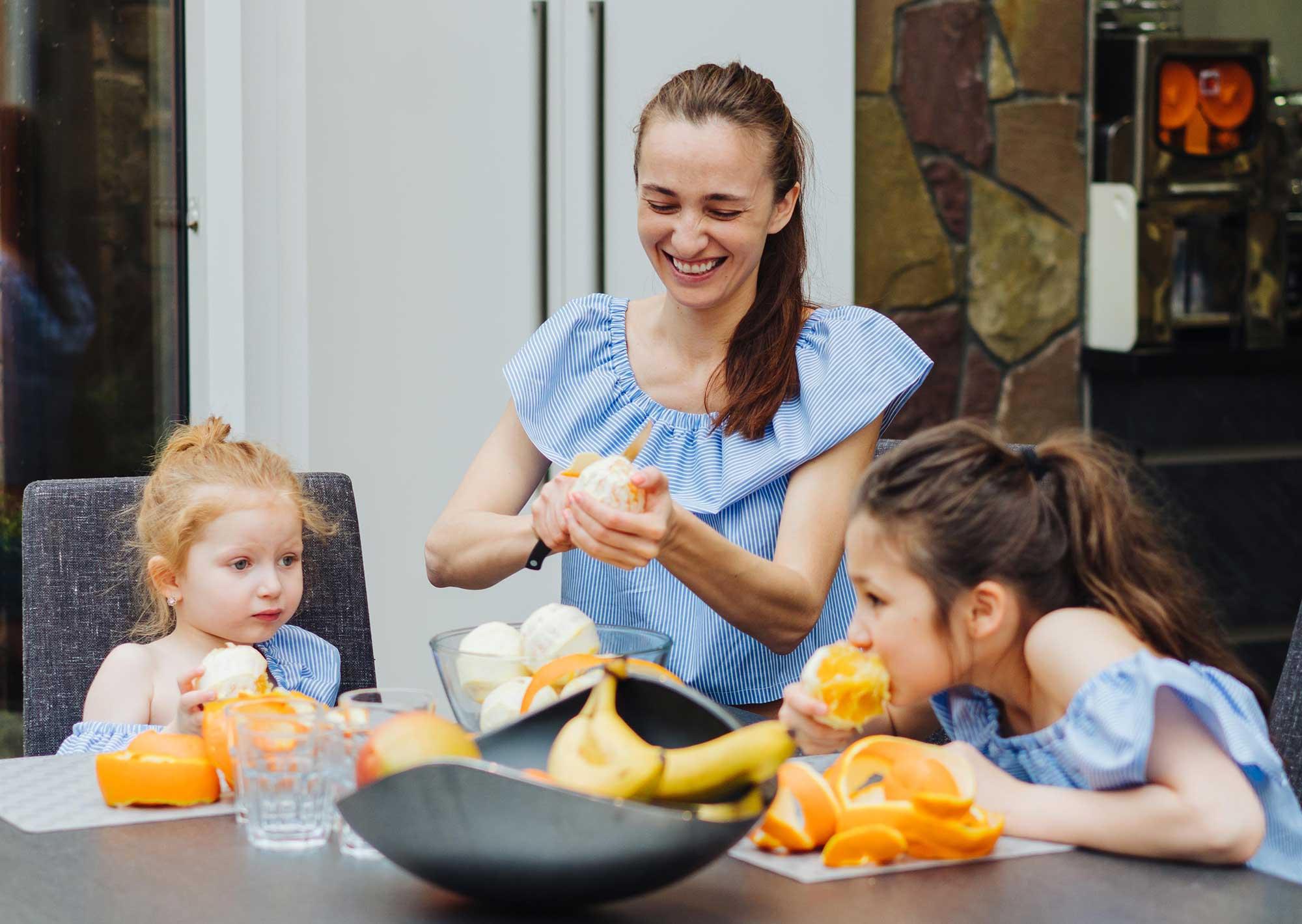 ¿Sabes qué hora es la mejor para Comer Naranjas y Mandarinas?