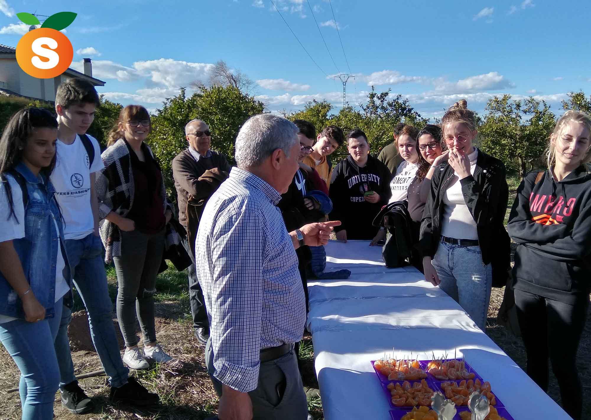 Recibimos la visita de estudiantes Erasmus del IES Jaume I Cata
