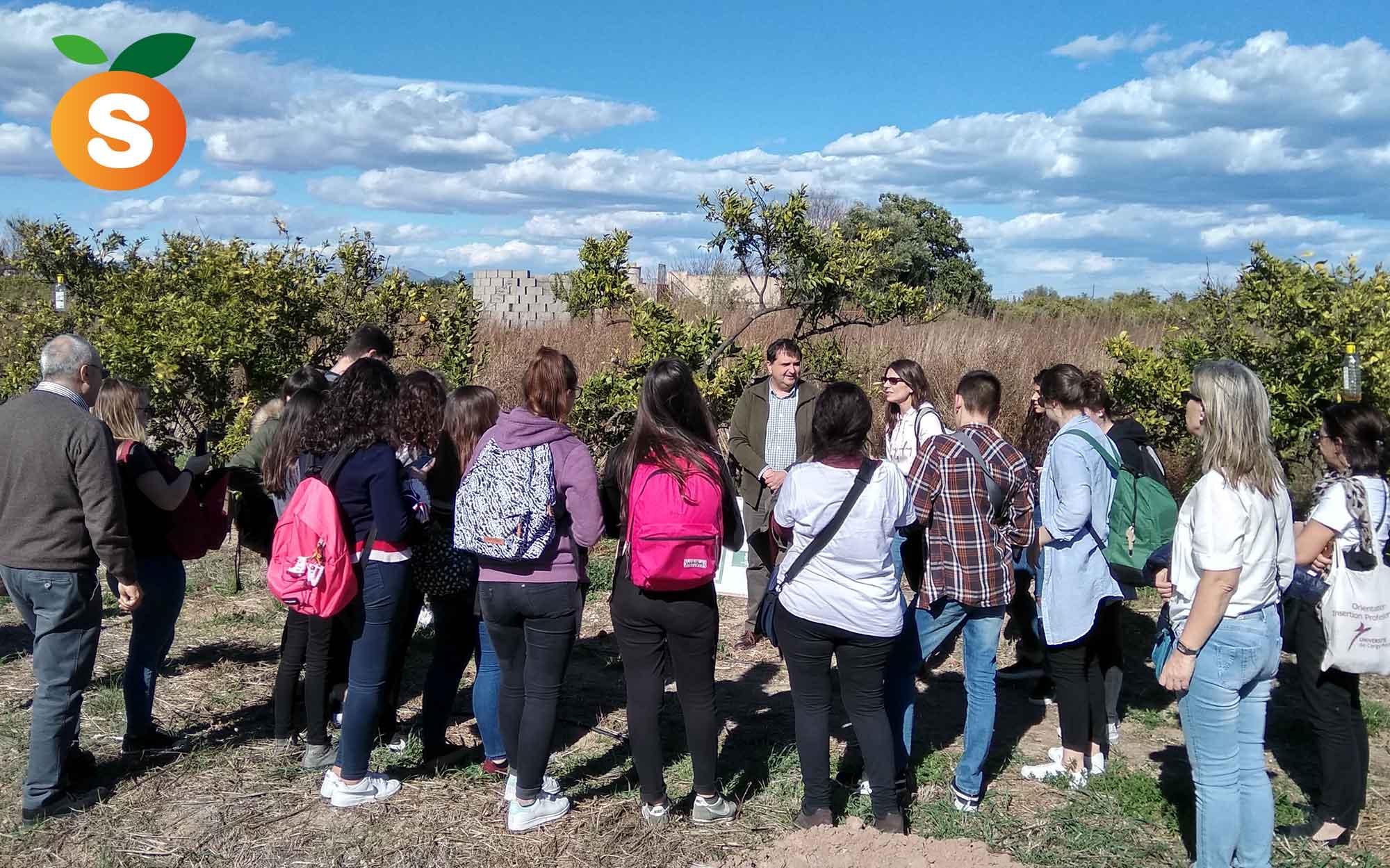 Recibimos la visita de estudiantes Erasmus del IES Jaume I Explicación