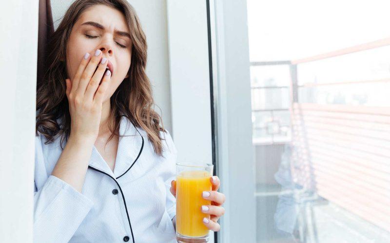 L'orange est le petit déjeuner parfait! Pour ses nutriments et peu de calories