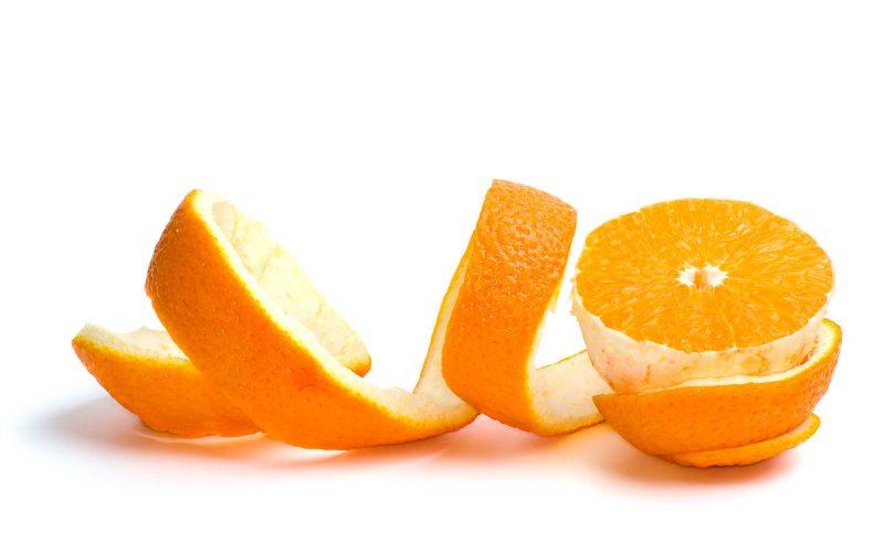 Prepara un delicioso Postre con cáscaras de Naranja natural