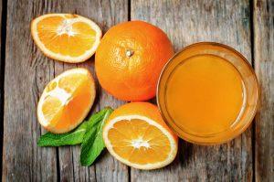 Flan de Naranja para 4 personas.