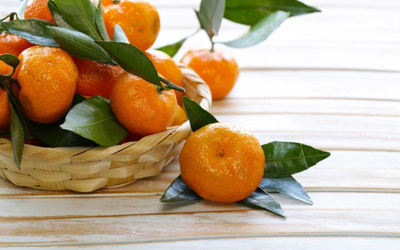 Mandarinas y vitamina C: Fuente de salud.