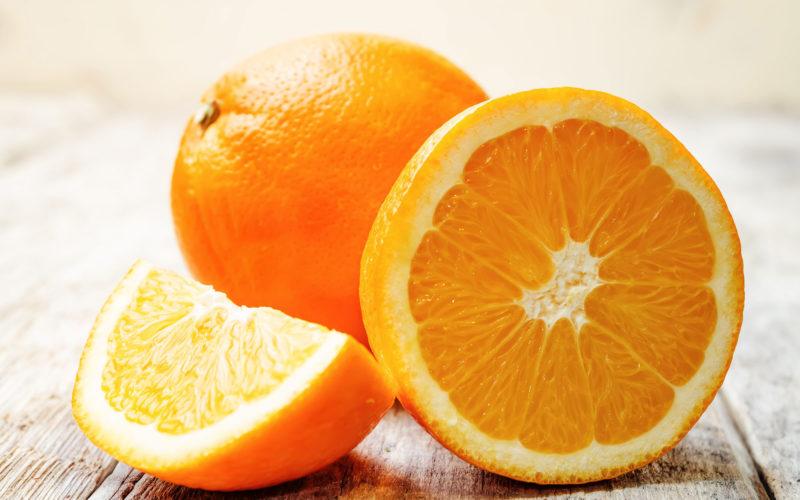 Postre con Naranja: Tronco de Naranja