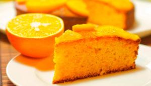 Pastel de Naranja Saludable
