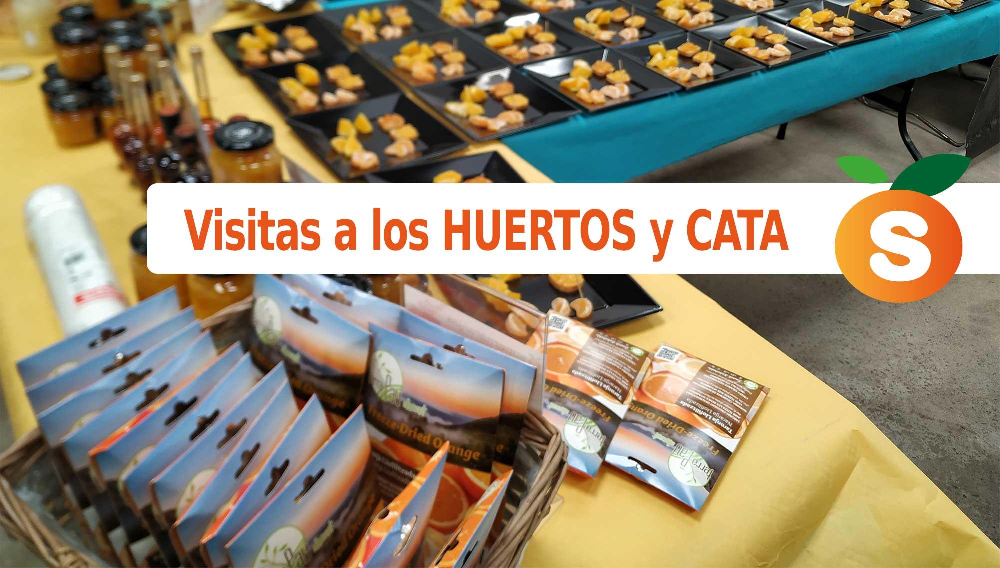 Visita a los Huertos de NARANJAS y CATA de Productos SuperNaranjas (Precio 8€ por persona en Burriana - Castellón)