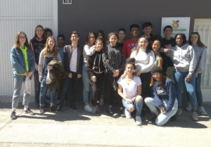 Visita a los Huertos de Naranjas de alumnos de Lyon