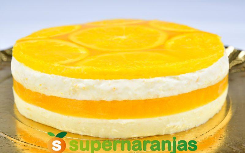 Cheesecake de naranja (sin horno).
